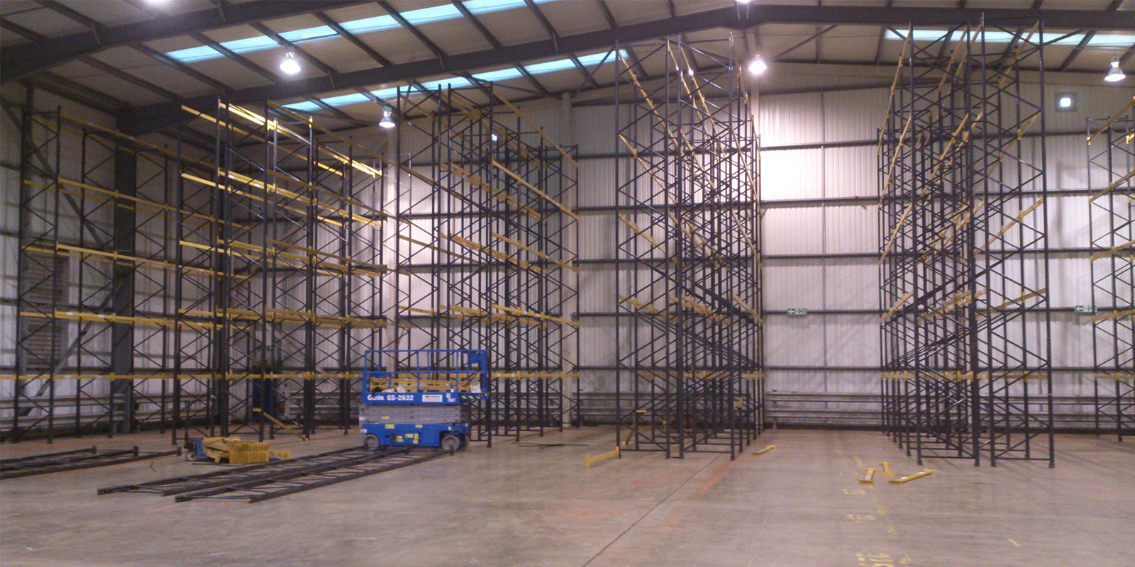 Racking Installation Completed