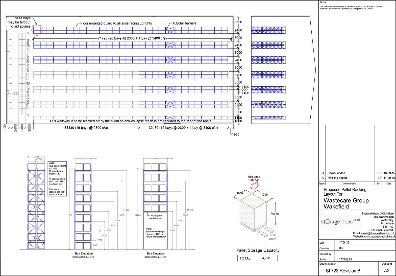 Racking CAD Design Services