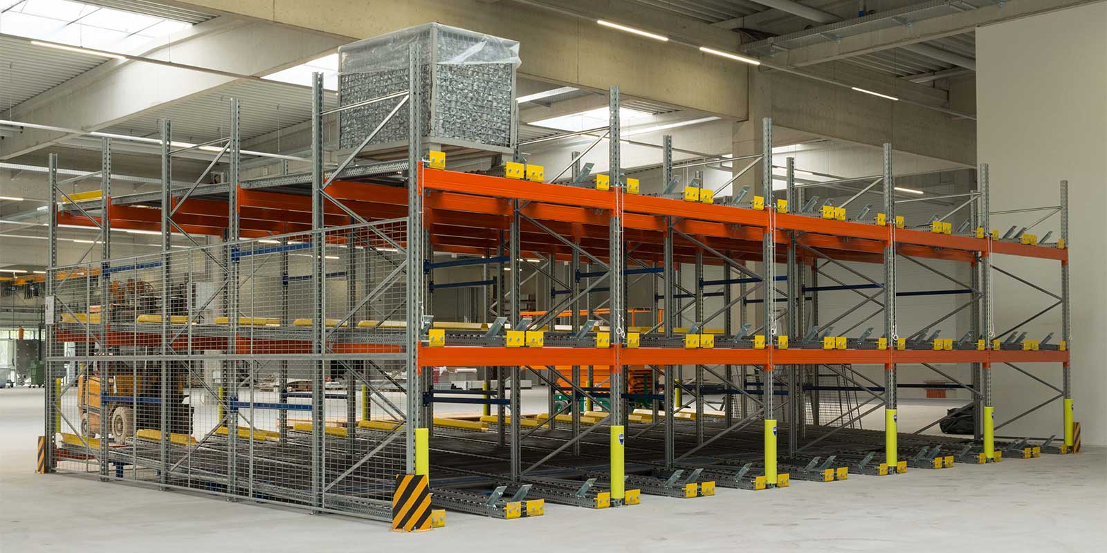 Pallet Live Racking Rotherham